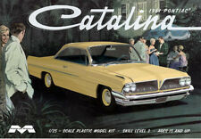 Moebius 1/25 1961 Pontiac Catalina Hardtop SCALE PLASTIC MODEL KIT 1217