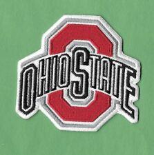 "New Ohio State Buckeyes  3 X 3 "" Iron on Patch Free Shipping"