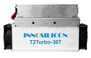 INNOSILICON T2T-30T BTC Miner, Bitcoin Mining, SHA256, ASIC, Same as Antminer