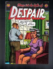 R. CRUMB'S DESPAIR Underground Comic Print Mint 1969 FINE-