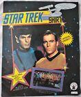 Vintage Star Trek Captain Kirk Rubies Costume Shirt Medium New Cos Play