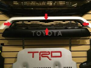 Genuine Toyota 2014 and Newer 4Runner TRD PRO Upper Grill PZ327-35053