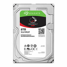"ST8000VN0022   Disque Dur interne 3.5"" Seagate 8To SATA III 256Mo Ironwolf"