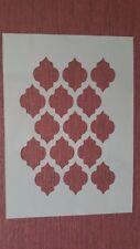 2448 Schablonen Muster Wandtattoos Airbrush Leinwand Textilgestaltung Stencil