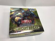 Japanese yugioh BOOSTER box  Sealed Circuit Break  CIBR   Free shipping