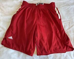adidas Red basketball shorts 3xl