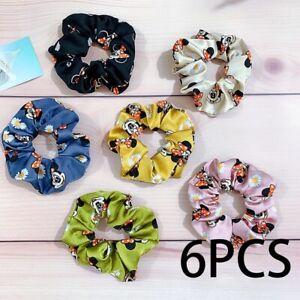 Mickey Mouse Bow Tie Scrunchies Hairband Hair Elastic Band Headband Costume