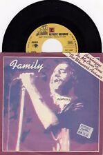 "FAMILY BURLESQUE / THE WEAVERS SNSWER 1978 RECORD YUGOSLAVIA 7"" PS SINGLE"