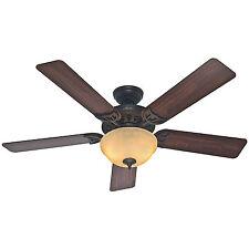 """HUNTER 52"""" Sonora """"New Bronze"""" Ceiling Fan w/ Light - Model #53172"""