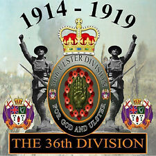 1914 - 1919  -  THE 36th DIVISION  -  *NEW* - LOYALIST/ULSTER/ORANGE CD