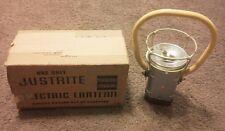 Vintage Railroad Justrite Electric Lantern