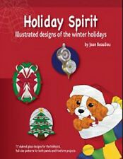 Stained Glass Pattern Book - Holiday Spirit