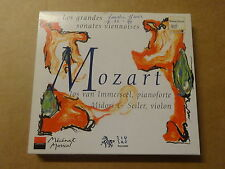 2-DISC CD / MOZART - JOS VAN IMMERSEEL - MIDORI SEILER: LES GRANDES SONATES
