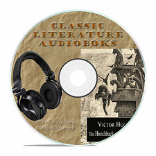 THE HUNCHBACK OF NOTRE DAME, VICTOR HUGO CLASSIC AUDIOBOOK LITERATURE MP3 CD-A73