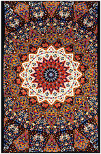 """3D EARTH STAR Psychedelic Tapestry/Wall Hanging 60""""x90"""" FREE 3D GLASSES!"""