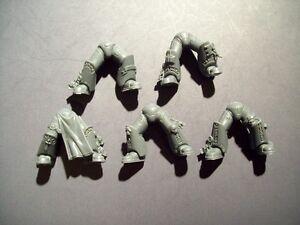 5 Space Marine Grey Knight Legs bits