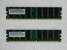 1GB (2X512MB) MEMORY FOR HP PAVILION W5465.SE A1010.DK A1105.UK A1109.UK A250Y