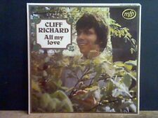 CLIFF RICHARD  All My Love  LP  Lovely copy !!