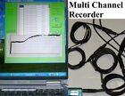 4 Channel Temperature Chart Recorder fr Repair Monitoring Freezer Fridge Chiller photo