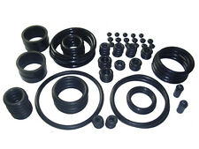 BLACK RUBBER RING KIT PINBALL ASSORTMENT - KIT GOMAS PINBALL UNIVERSAL NEGRO
