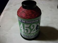 Red & Black Speckled BCY 452X Bowstring Material 1/4lb Bow String Making