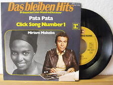"7"" single-Miriam Makeba-PATA PATA-Click Song number 1-MINT & Non Usato!"