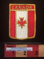 Canada Patch Shield Emblem ~ Maple Leaf And Flag Theme 64E1