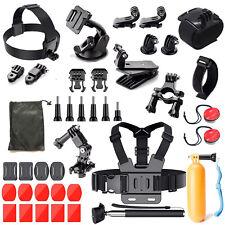 Outdoor Sports Accessories Kit for GoPro Hero /WiMiUS /Lightdow /DBPOWER /SJCAM