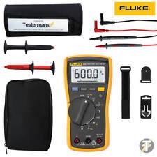 Fluke 115 Digital Multimeter with Extras including Roll Case KIT3F