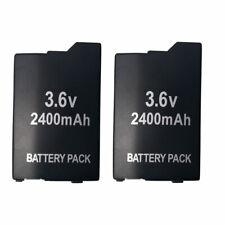 2 Pack Game Battery For SONY Lite,PSP 2th,PSP-2000,PSP-3000, PSP-3004, Silm