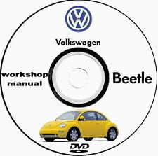 Workshop Manual Volkswagen New Beetle 1998/2000 e 2009/2012