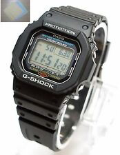 CASIO G-SHOCK TOUGH SOLAR WATCH Black G-5600E-1 100% Original Brand New + Gift
