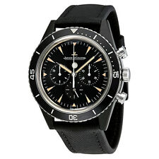 Jaeger LeCoultre Deep Sea Chronograph Vintage Cermet Automatic Mens Watch