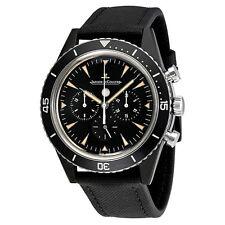 Jaeger LeCoultre Deep Sea Chronograph Vintage Cermet Automatic Mens Watch