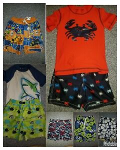 Boy's Bathing Suit Swim Trunks You Choose Pattern Size 4-5-6-7 Small Medium