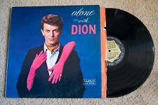 Dion Alone With Doo Wop Record lp original vinyl album
