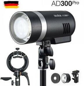 Godox AD300Pro 2.4G TTL HSS All-in One Outdoor Strobe Blitz mit S2 Bracket