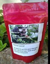 100 gr Kopi Robusta  Luwak Gayo 100%  Wild Civet whole Beans coffee Roasted