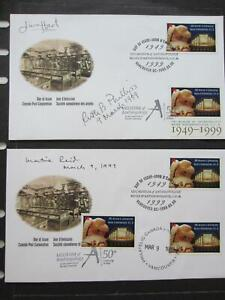 Canada first day cover 1778, BC  Museum, sign by Curator, etc, 2 covers, [31