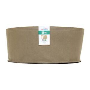 Grass Roots Fabric geotextile pots Shorty Soil Saver 114L - 30 gallon TAN color