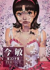 Kon Satoshi Storyboard Collection PERFECT BLUE Light ver. Anime Art Book JPN F/S