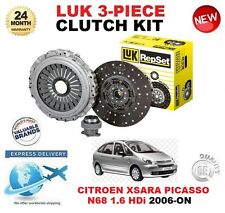 Pour Citroen Xsara Picasso N68 1.6 Hdi 2006-on Kit Embrayage Original Luk 3