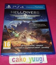 HELLDIVERS SUPER-EARTH ULTIMATE EDITION PS4 SONY PS4 NEUF SOUS BLISTER 100% FR