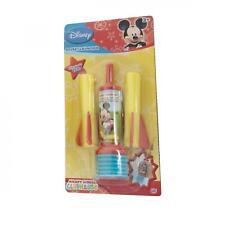 Disney Mickey Mouse Club House cohete Lanzador De Juguete + 2 Dardos De Espuma-Niños Regalo