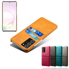 For Samsung Galaxy Note 20 Ultra Case Luxury Leather Back Card Slot Wallet Cover