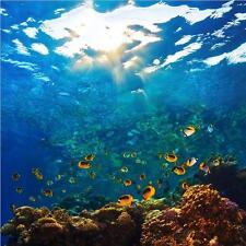3D luz de pescado de mar Pegatinas de Pared de Impresión De Pared Murales Vinilo Arte Deco ajstore UK