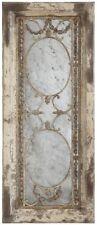 3R Studios Wall Mirror Distressed Pine Wood Metal Elegant Antique Decorative New