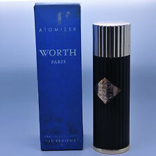 Worth Je Reviens 3 oz parfum de toilette spray, vintage rare!