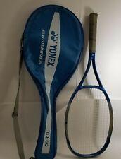 "Yonex RQ-60 Widebody 4 3/8"" Grip Tennis Racquet w/ Case"