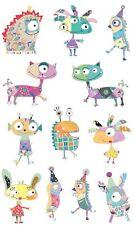 Mrs Grossman`S Wunderbare Monsters Sticker 2014